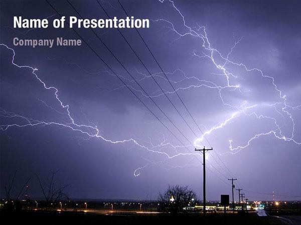 lightning powerpoint templates