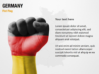 Germany Fist Flag