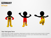 Germany 3D People