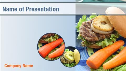 Fast Food Powerpoint Templates  Fast Food Powerpoint Backgrounds