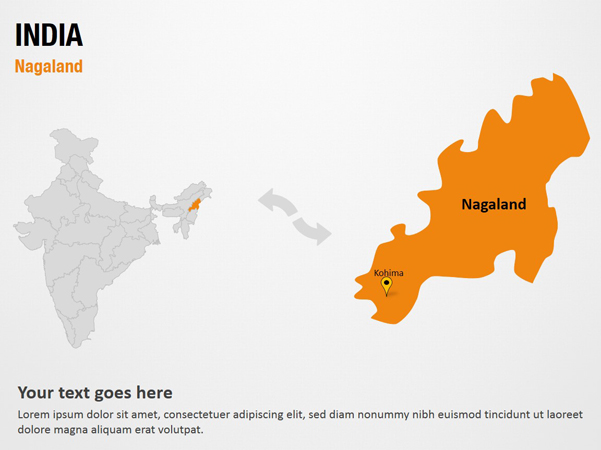 nagaland india powerpoint map slide l Top Result 60 New India Map Ppt Template Photography 2017 Gst3