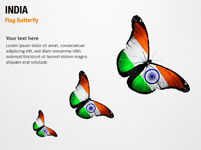 India Flag Butterfly