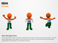 India 3D People