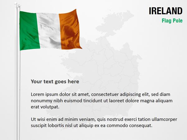 Ireland Flag Pole