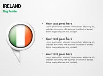 Ireland Flag Pointer