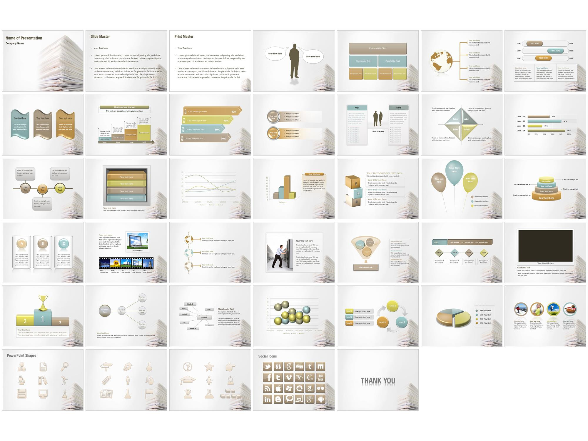 business documents powerpoint templates business