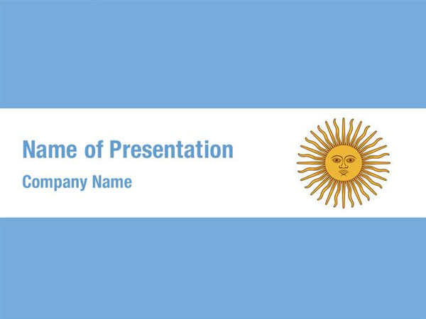 Flag of Argentine Republic