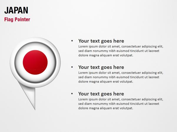 Japan Flag Pointer