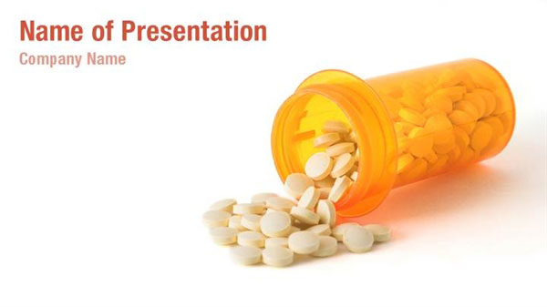 Medicine Spill Powerpoint Templates Medicine Spill