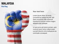 Malaysia Fist Flag