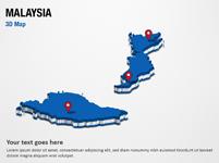 Malaysia 3D Map