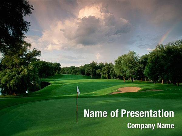 Golf Club Powerpoint Templates Golf Club Powerpoint