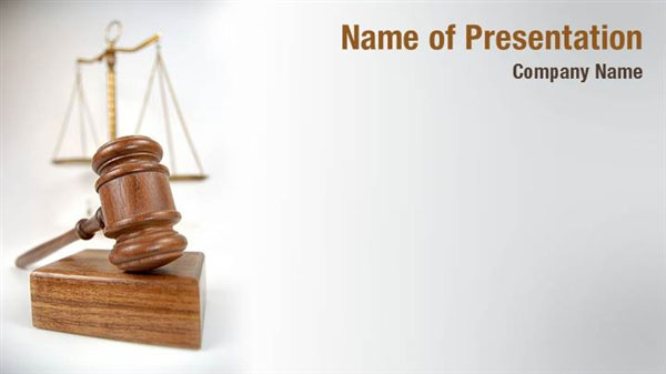 gavel law powerpoint templates gavel law powerpoint