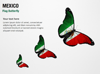Mexico Flag Butterfly