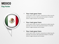 Mexico Flag Pointer