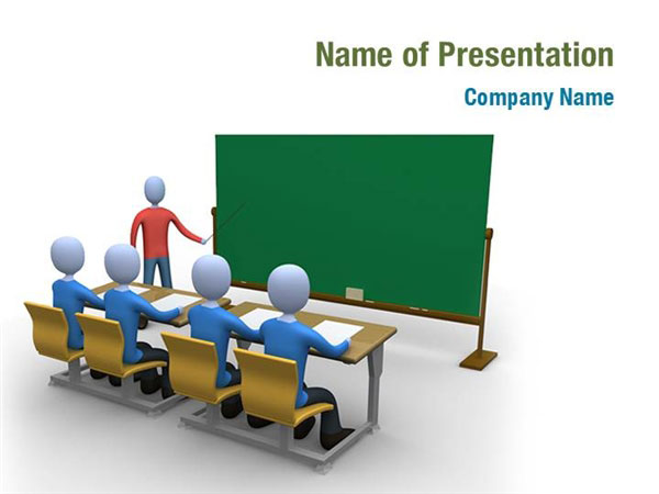 School Teaching Powerpoint Templates School Teaching