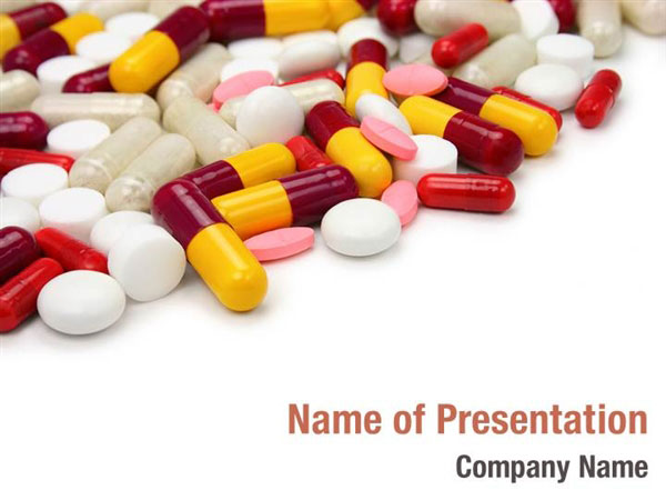 pills and tablets powerpoint templates