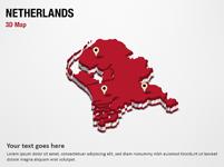 Netherlands 3D Map