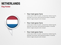 Netherlands Flag Pointer