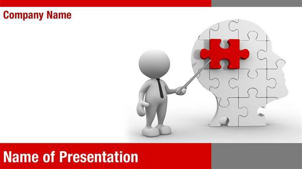 Human Brain Research Powerpoint Templates Human Brain