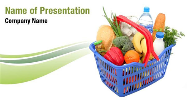 Grocery Basket PowerPoint Templates Grocery Basket PowerPoint – Grocery Templates Free