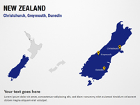 Christchurch, Greymouth, Dunedin - New Zealand