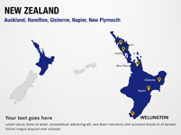 Auckland, Hamilton, Gisborne, Napier, New Plymouth - New Zealand