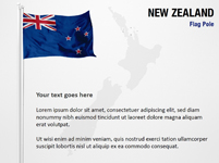 New Zealand Flag Pole