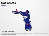 New Zealand 3D Map