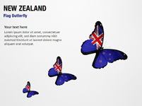 New Zealand Flag Butterfly
