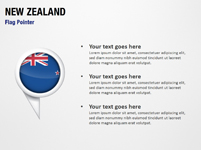 New Zealand Flag Pointer