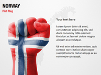 Norway Fist Flag