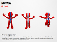Norway 3D People