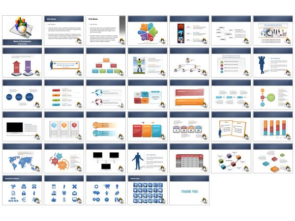 Graphs PowerPoint Templates - Graphs PowerPoint Backgrounds ...