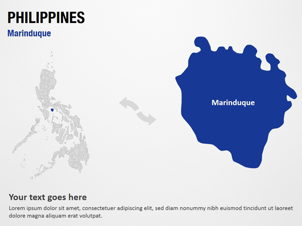 Marinduque Philippines  city pictures gallery : Marinduque Philippines PowerPoint Map Slides Marinduque ...