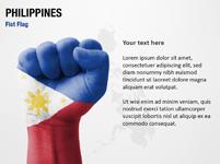 Philippines Fist Flag