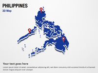 Philippines 3D Map