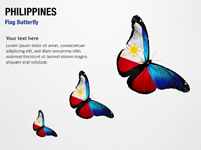 Philippines Flag Butterfly
