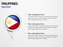 Philippines Flag Pointer