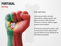 Portugal Fist Flag