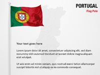 Portugal Flag Pole