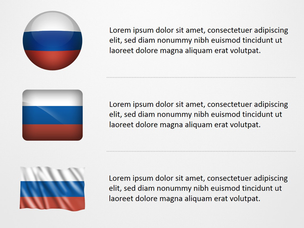 Russia Flag Icons