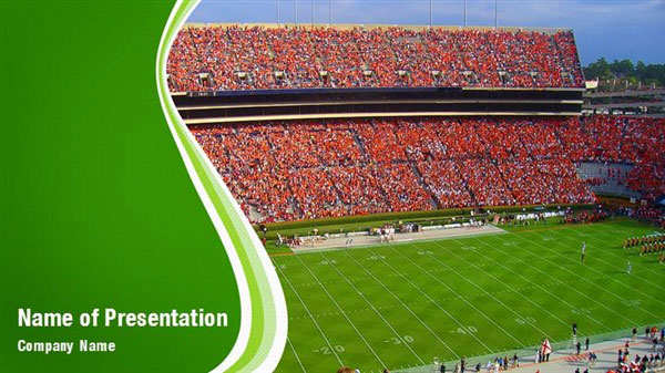 football stadium powerpoint templates