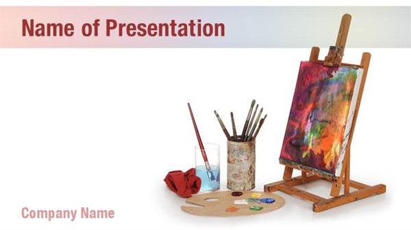 Art School Powerpoint Templates Art School Powerpoint