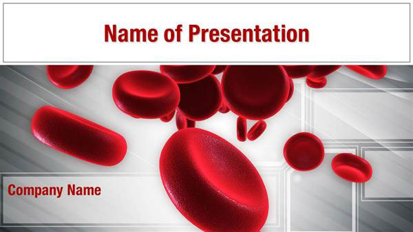 blood cells powerpoint templates blood cells powerpoint backgrounds