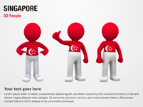 Singapore 3D People