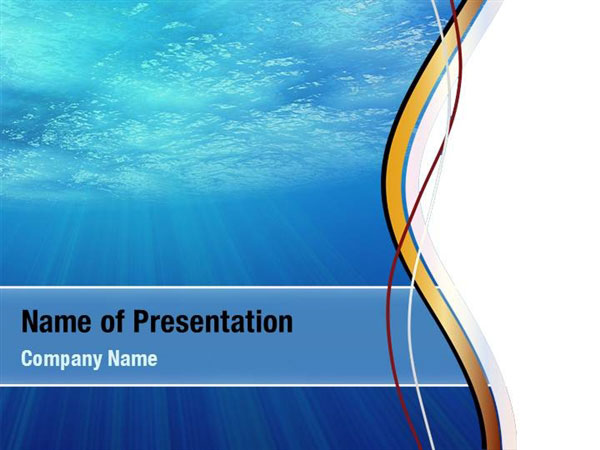 Water Theme Powerpoint Templates - Water Theme Powerpoint