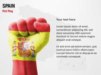 Spain Fist Flag