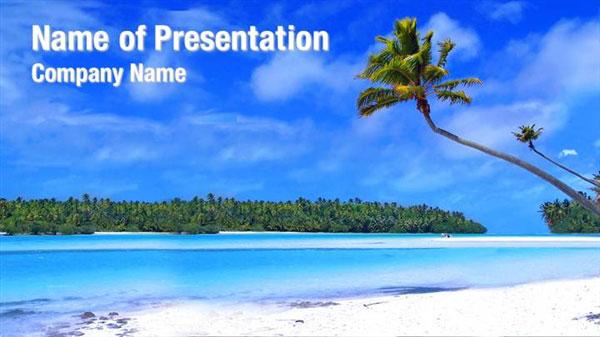 island beach powerpoint templates