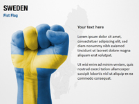 Sweden Fist Flag